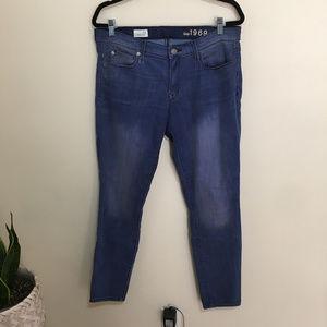 GAP legging jean in chattanooga wash